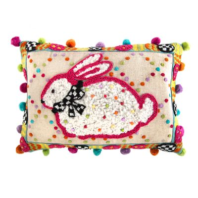 Dotty Bunny Pillow