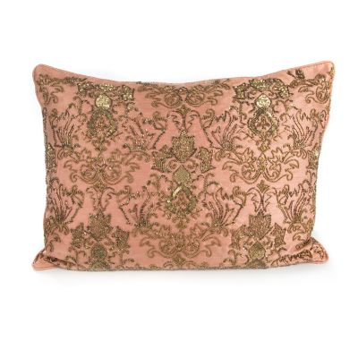 Doge's Palace Lumbar Pillow - Rose