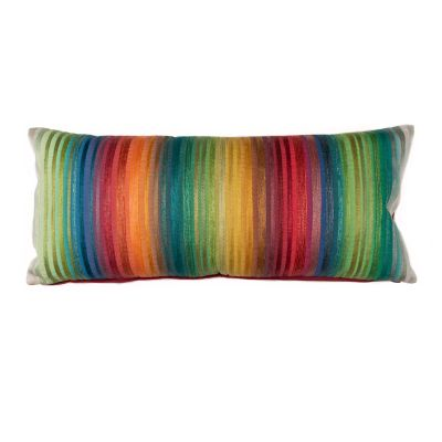 Garden Stripe Lumbar Pillow
