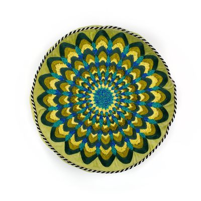 Image for Proud Peacock Pillow