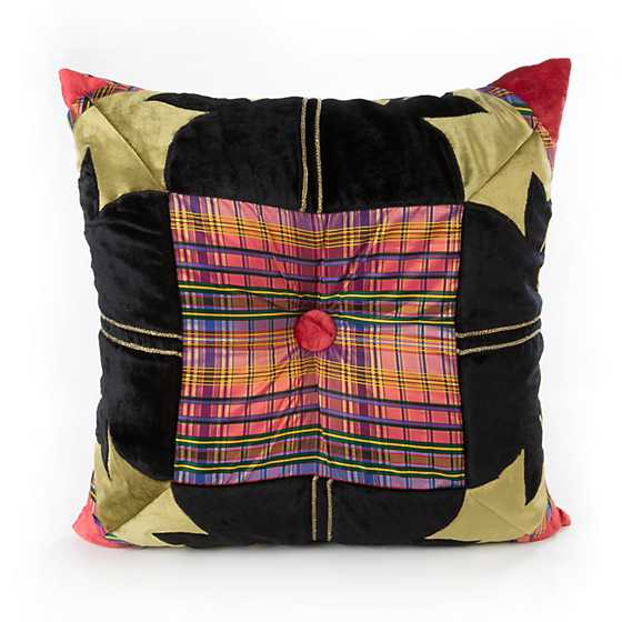 Portobello Road Square Pillow image three