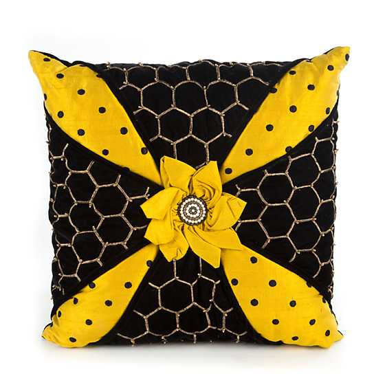 Honeycomb Pillow image one