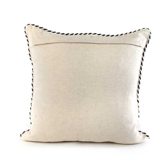 Butterfly Pillow - Black & White image three