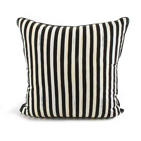 Courtly Check Sash Pillow - Red image three