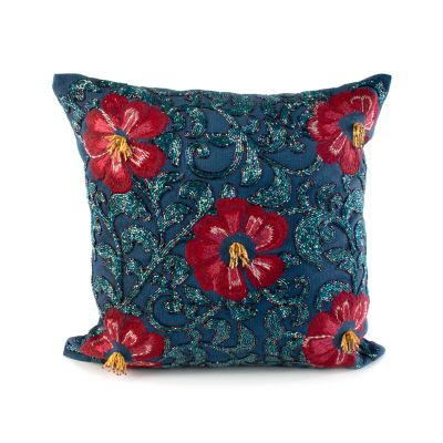 Bluetopia Shimmer Pillow
