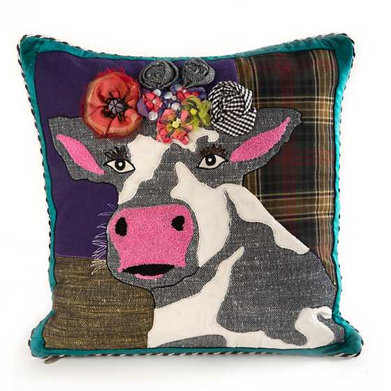 Mackenzie Childs Frida Cowlo Pillow
