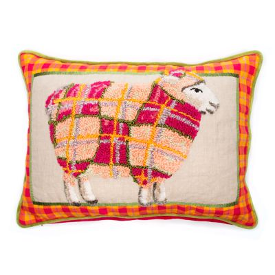 Tartan Sheep Pillow