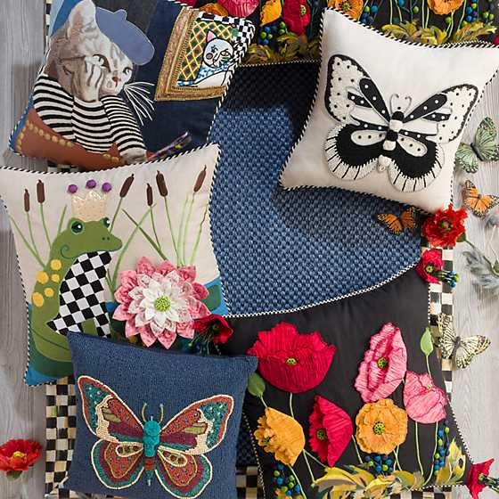 Boheme Butterfly Pillow image six