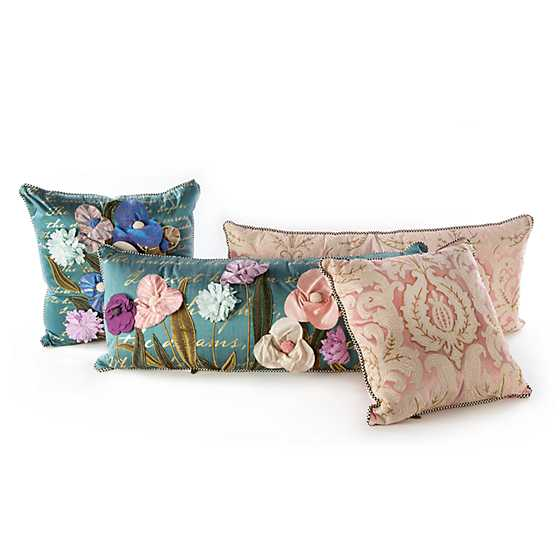 Nectar Square Pillow - Pink image four