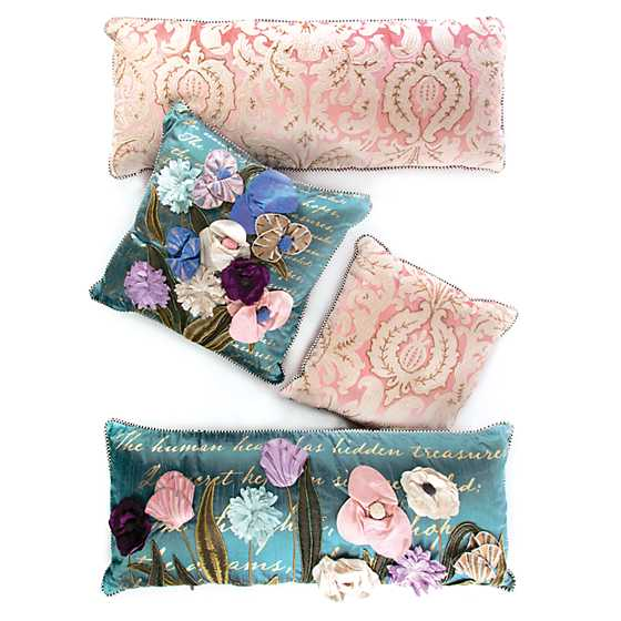 Nectar Square Pillow - Pink image five