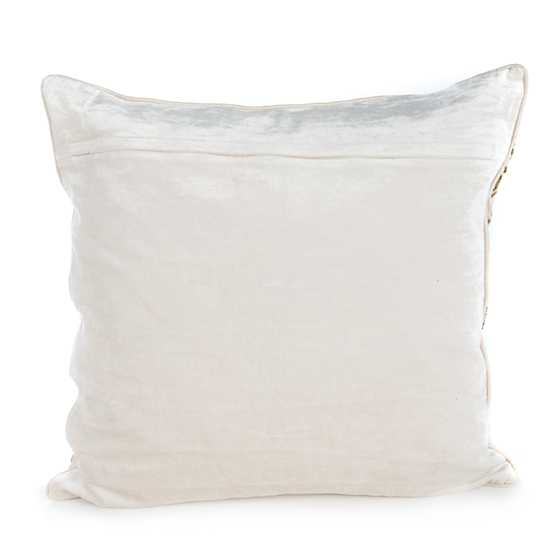 Doge's Palace Square Pillow - Ivory image three