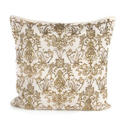 Doge's Palace Square Pillow - Ivory