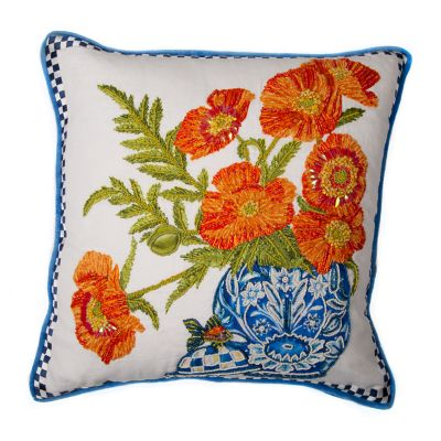 Image for Ming Poppies Pillow