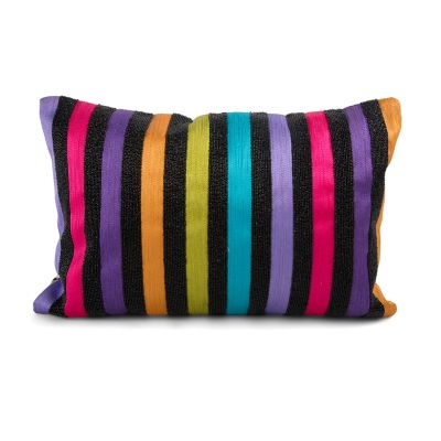 Tivoli Gardens Striped Pillow