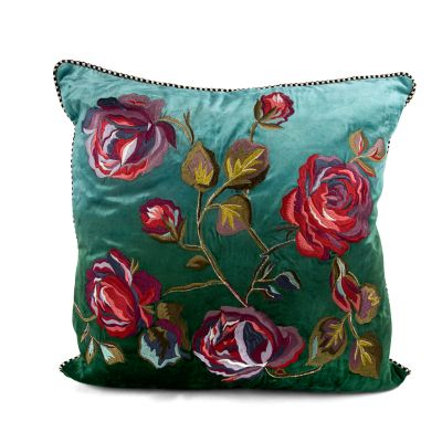 Tivoli Gardens Pillow - Teal