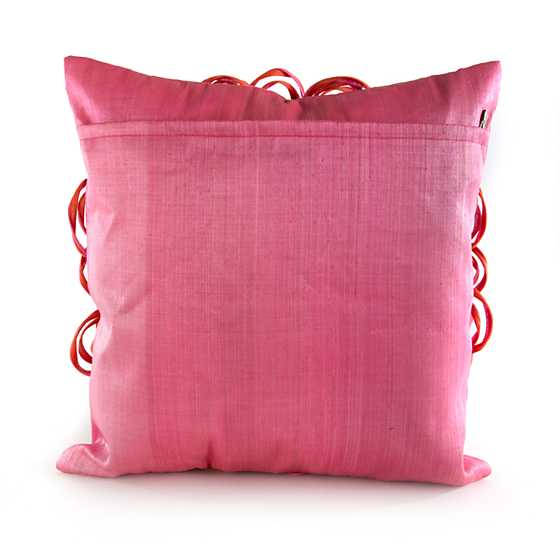 On the Avenue Pillow - Super Pink image three