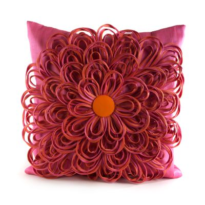 Image for On the Avenue Pillow - Super Pink
