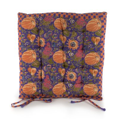 Harvest Pumpkin Chair Cushion