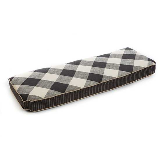 Carriage House Bench Cushion - Slate
