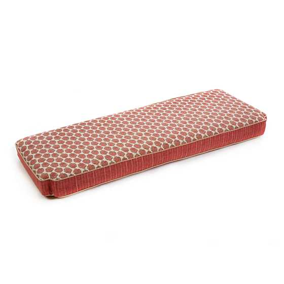 Carriage House Bench Cushion - Rhubarb image two