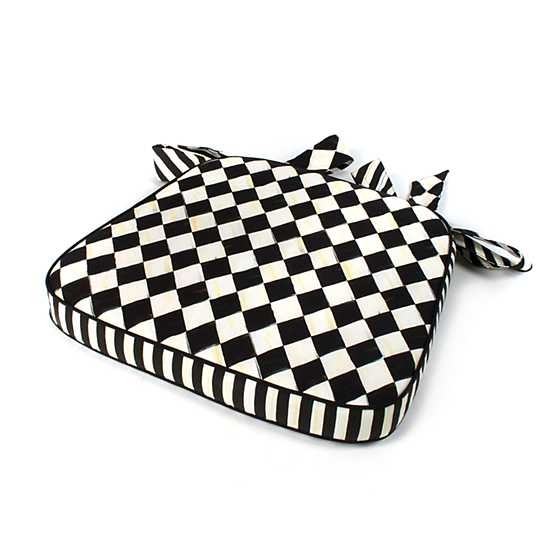 Courtly Harlequin Chair Cushion image five