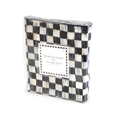 Courtly Check Duvet Cover - Twin