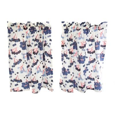 Blueberry Cafe Curtains - Set of 2