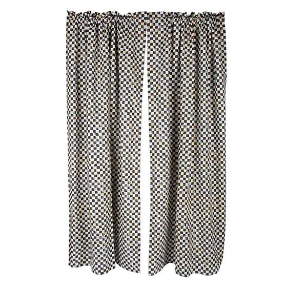 Courtly Check Curtain Panel