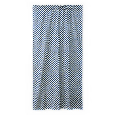Royal Check Curtain Panel