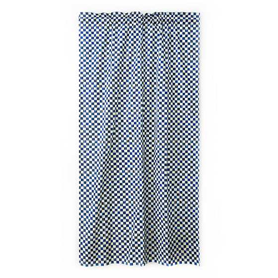 Royal Check Curtain Panel image one