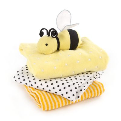 Baby Bee Blanket Set
