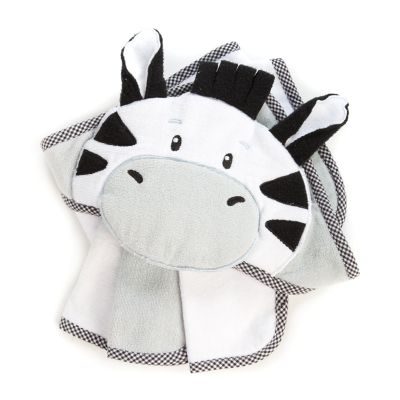 Hooded Towel Set - Zebra