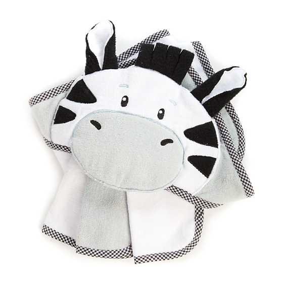 Mackenzie Childs Hooded Towel Set Zebra