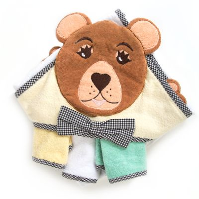 Hooded Towel Set - Bear