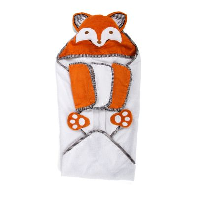 Hooded Towel Set - Fox