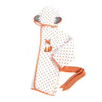 Fox Toddler Bath Robe - 2T