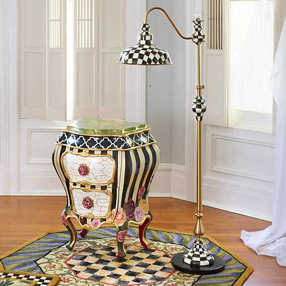 Courtly Farmhouse Floor Lamp image four