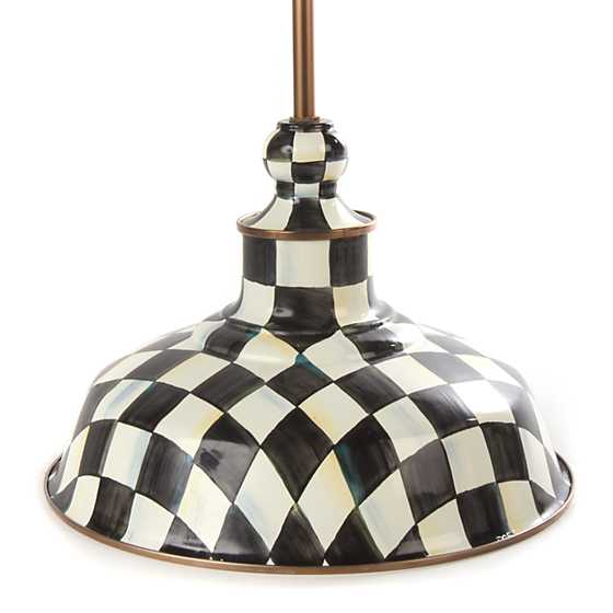 "Courtly Check Barn Pendant Lamp - 12"" image one"