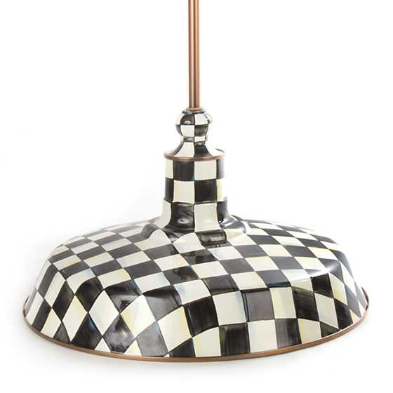 Courtly Check Barn Pendant Lamp - 18""