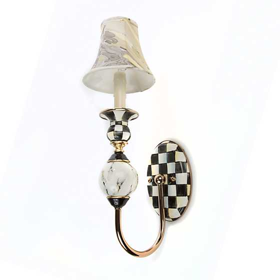 Courtly Palazzo Single Sconce image three