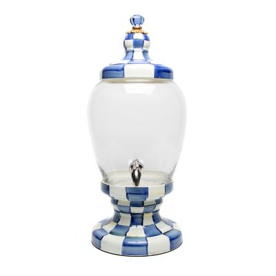 Image for Royal Check Enamel Beverage Hostess