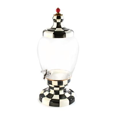 Courtly Check Enamel Beverage Hostess