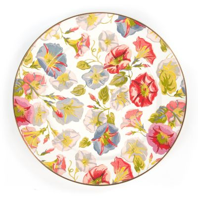 Morning Glory Charger/Plate