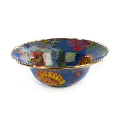 Flower Market Breakfast Bowl - Lapis