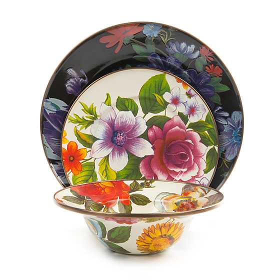 Flower Market Breakfast Bowl - White image three