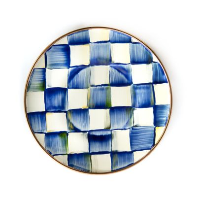 Royal Check Enamel Saucer