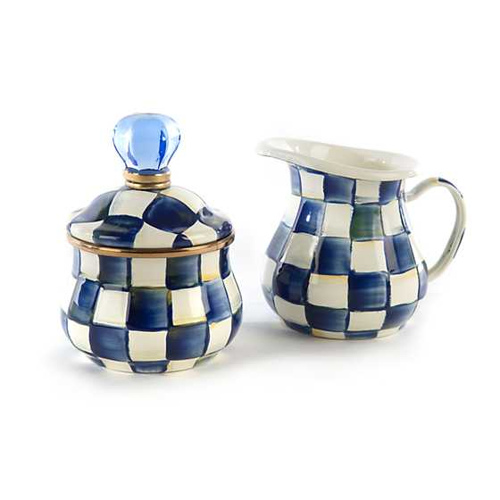 Royal Check Creamer image three