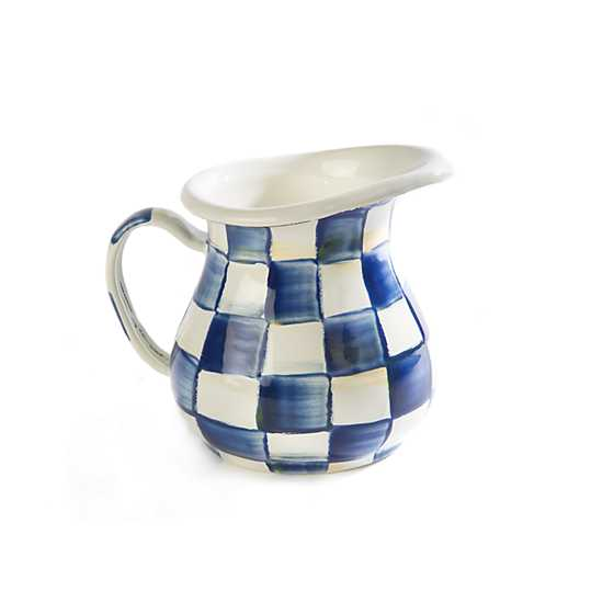 Royal Check Enamel Creamer
