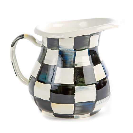 Courtly Check Enamel Creamer image one