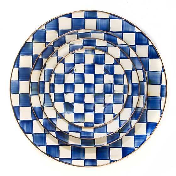 Royal Check Serving Platter